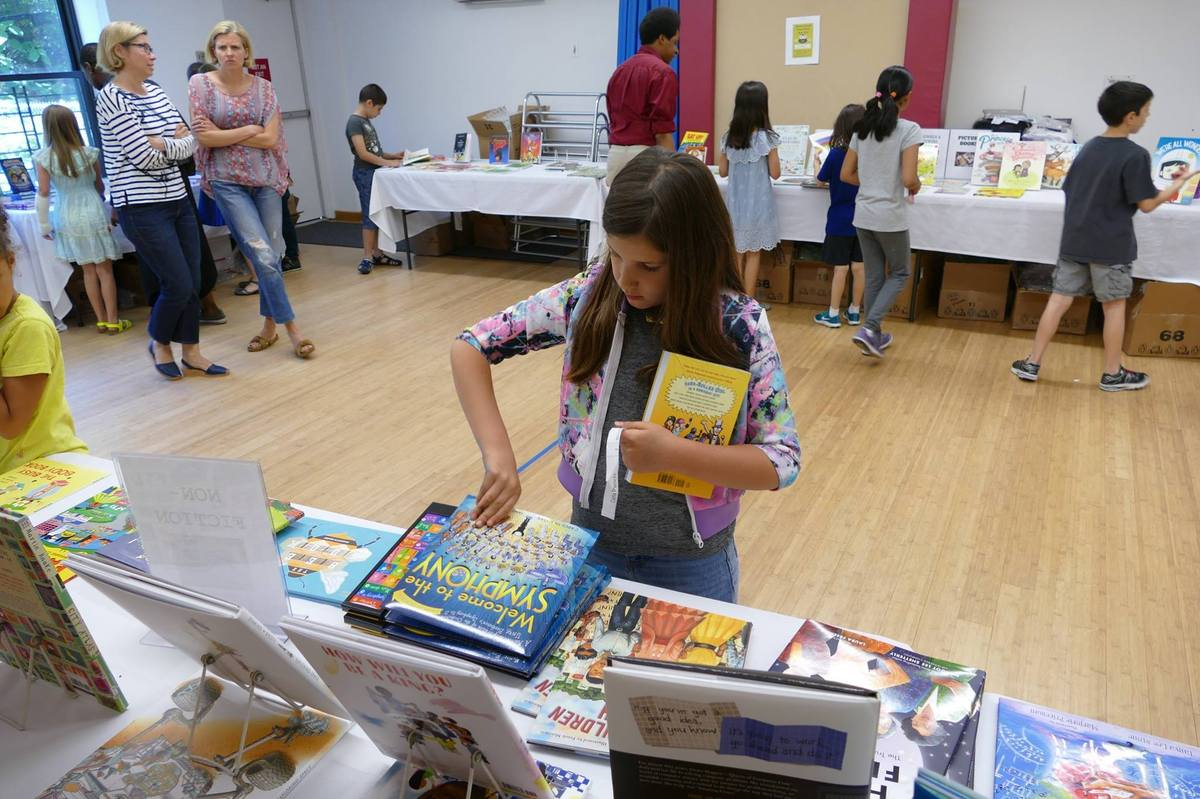 Lower School Students Explore Summer Reading at Book Fair