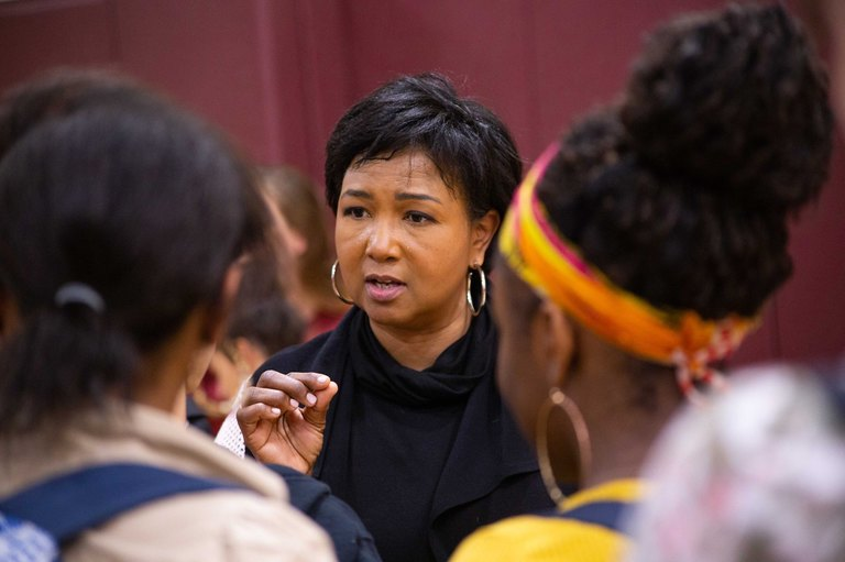 Mae Jemison Visits Berkeley Carroll