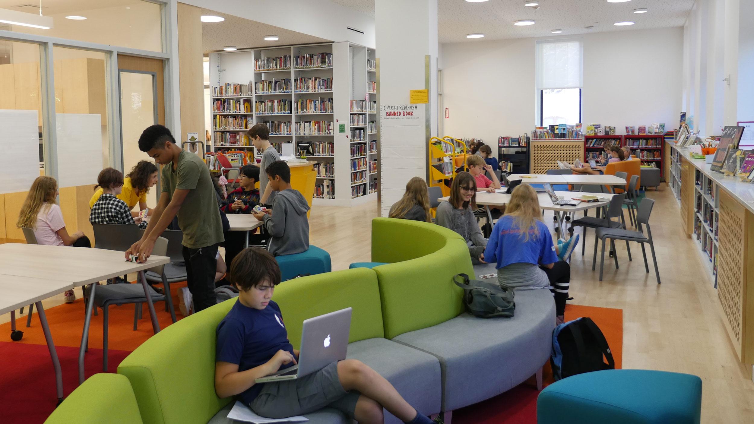Middle Upper School Libraries The Berkeley Carrol School