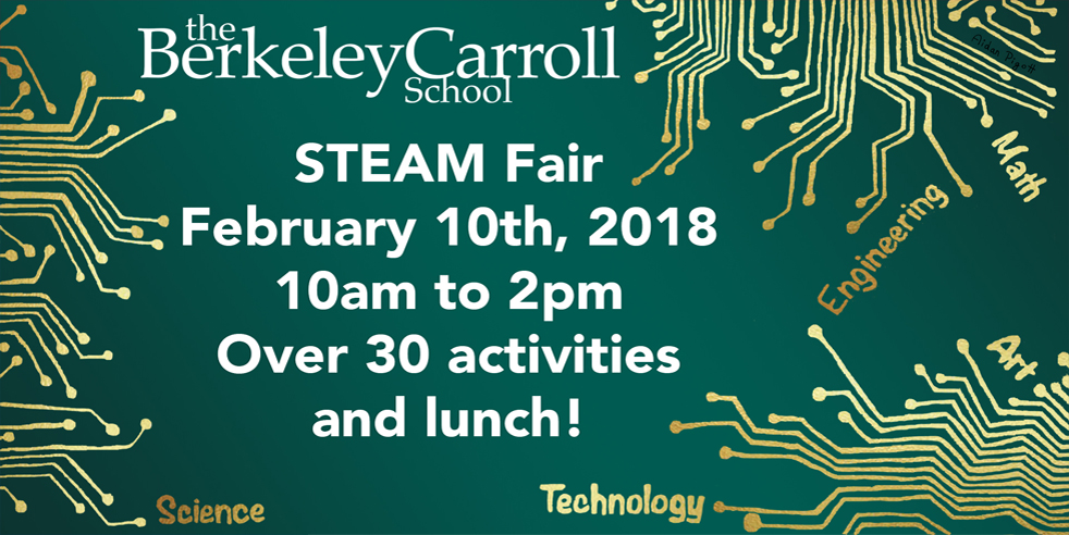 BC STEAM Fair - The Berkeley Carroll School