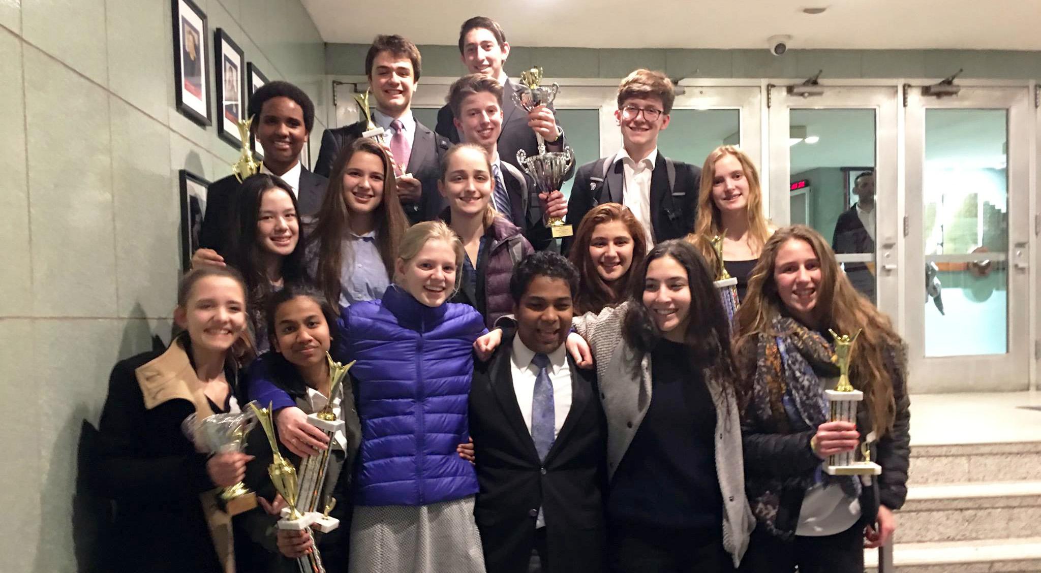 Speech And Debate Team The Berkeley Carroll School